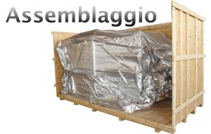 Assemblaggio Casse e Gabbie in legno e bloccaggio della merce all'interno delle casse in legno o gabbie in legno Rovigo. Consulenza sul migliore tipologia di casse in legno per l'assemblaggio e relativa sicurezza. Oltre a casse in legno offriamo lo stesso servizio su gabbie in legno