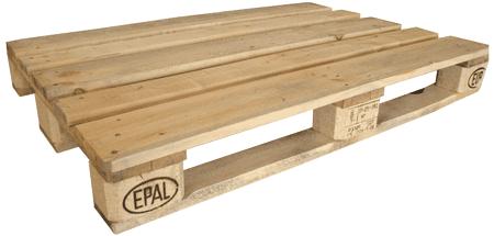 Pallet in legno EUR 120x80 - 120x100 - Galvan Imballaggi srl ...